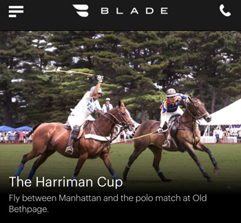 Fly Blade to the Harriman Cup