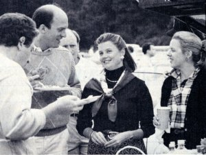Pamela Harriman (Center)